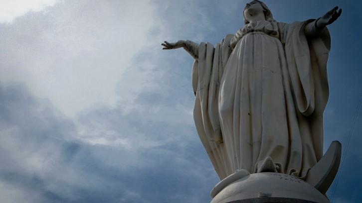 The Virgin Mary on Cerro San Cristobal