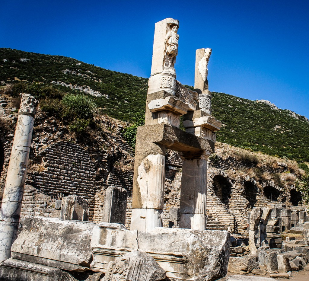 Ancient ruins at Ephesus