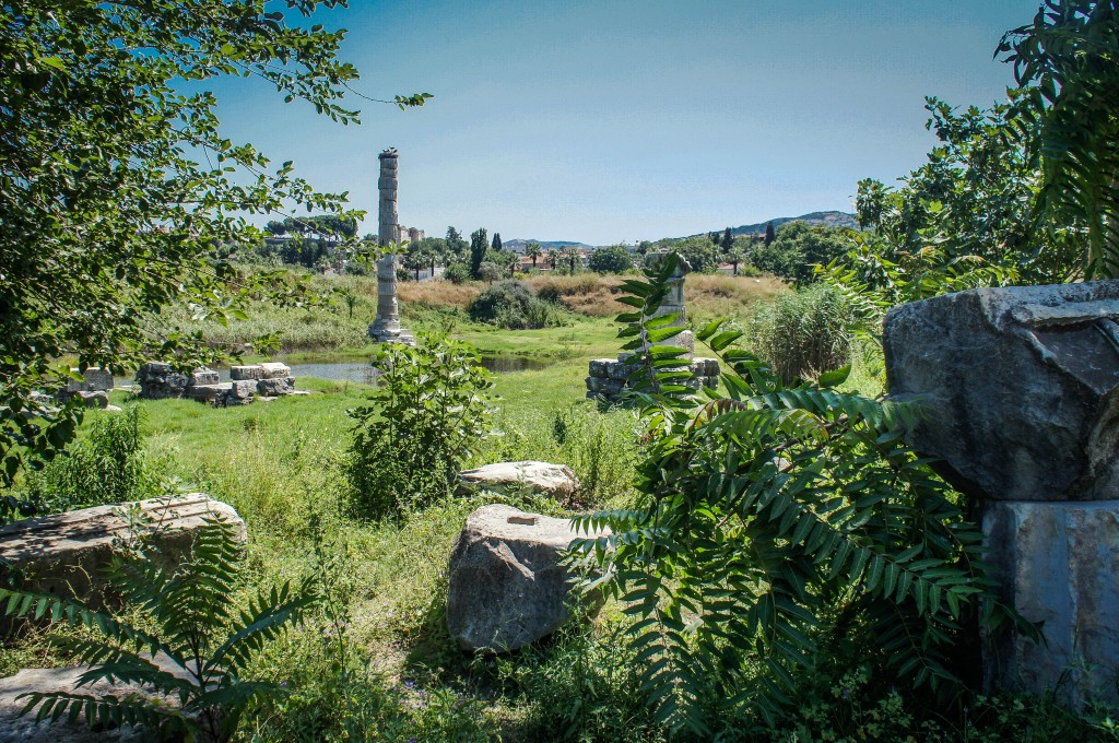 View of the Temple of Artemis