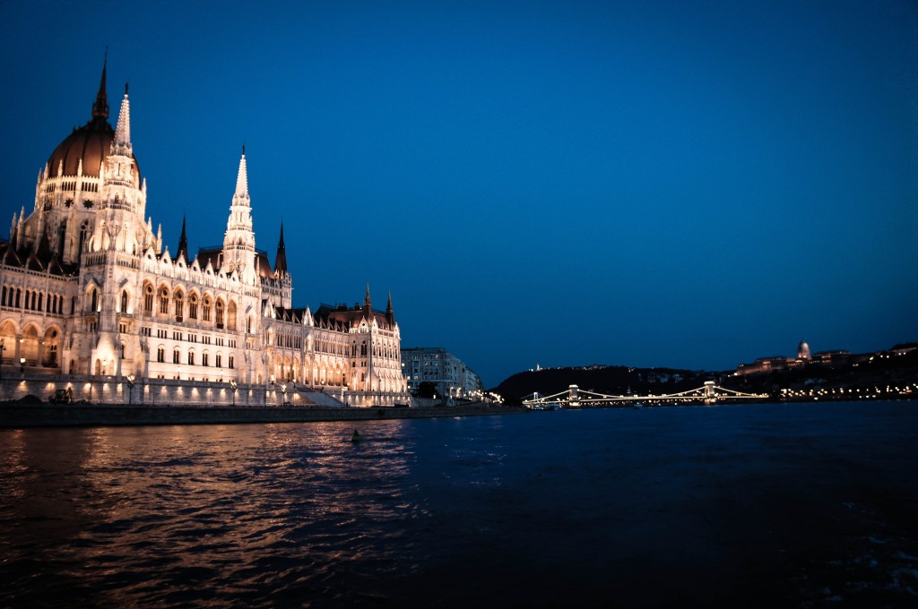 Budapest by boat