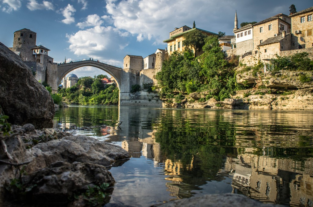 Mostar's Stari Most Bridge.