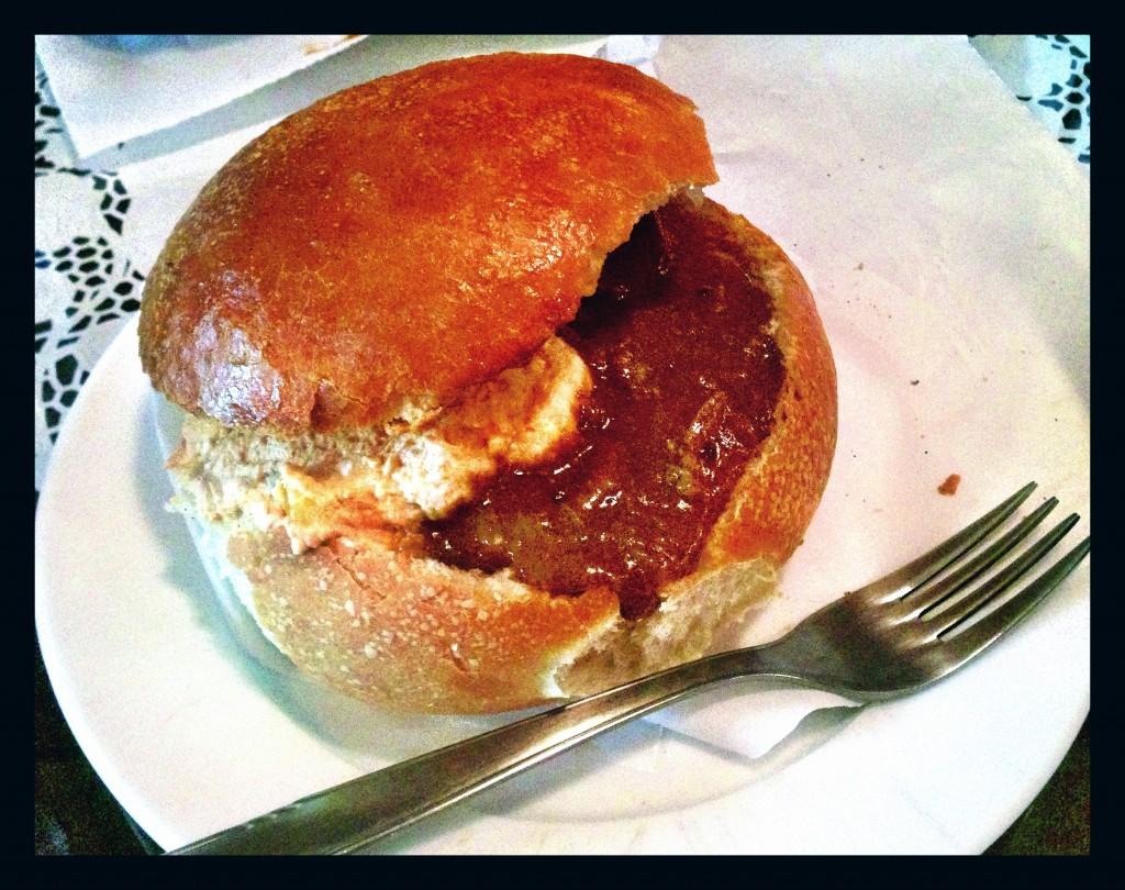 Goulash sandwich? Yes please!