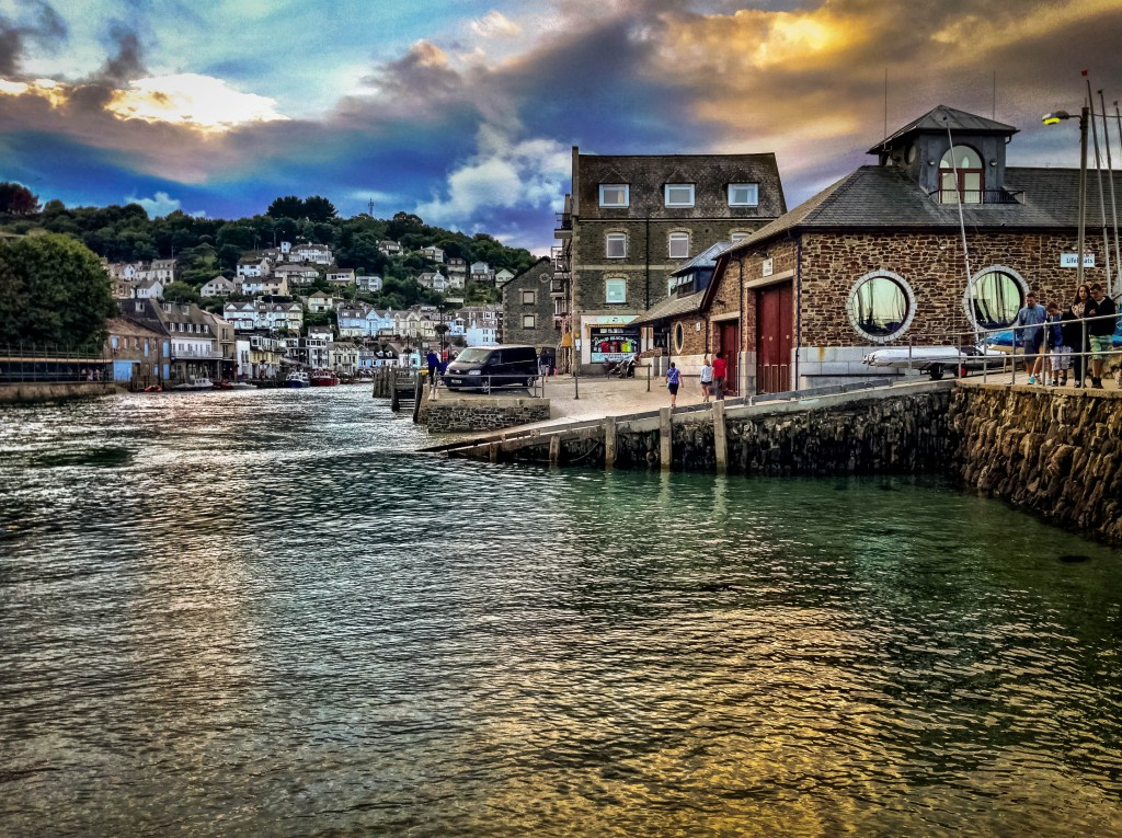 The inlet from which Looe gets its name