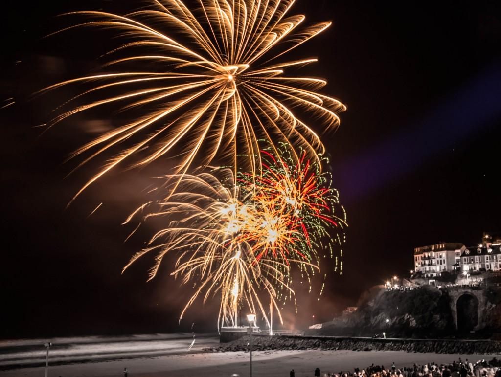 Fireworks from Banjo Pier