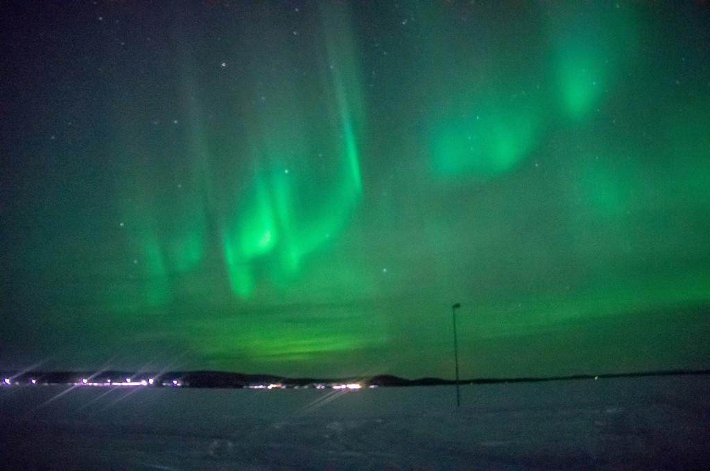 Aurora Borealis, Porjus, Sweden