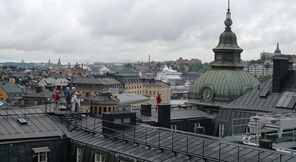 """Stockholm: Rooftop tour"" by ryan pikkel"