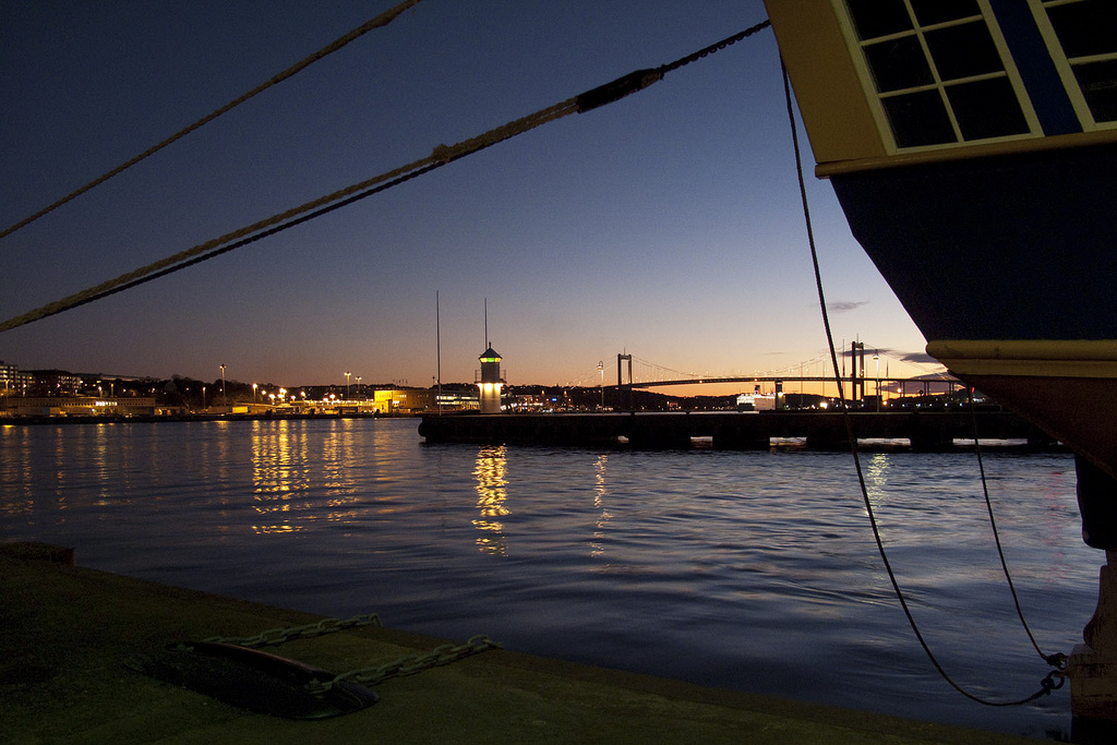 """Gothenburg harbour"" by Tom De Mulder"
