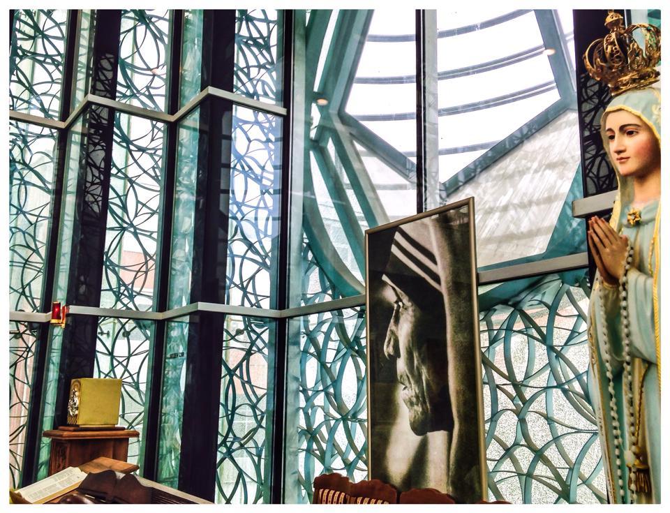 The Chapel at the Mother Teresa Memorial, Skopje