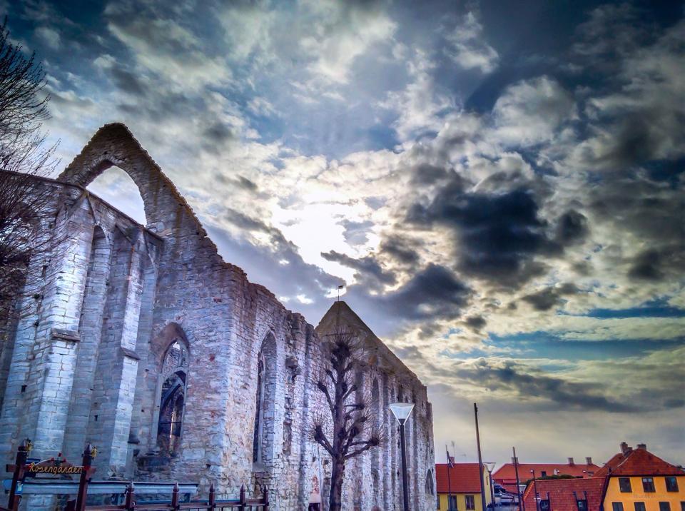 Ruins of St Katarina