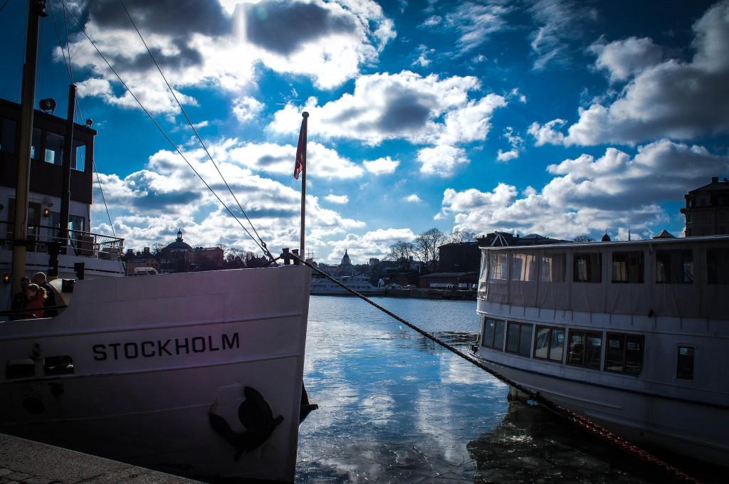 The Stockholm brunch boat