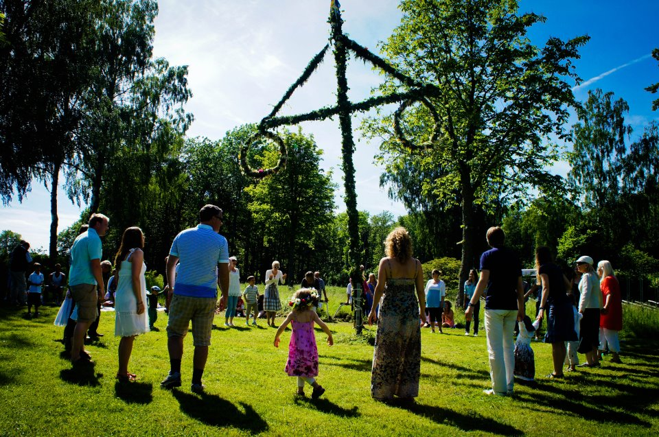 Traditional Midsommar celebrations