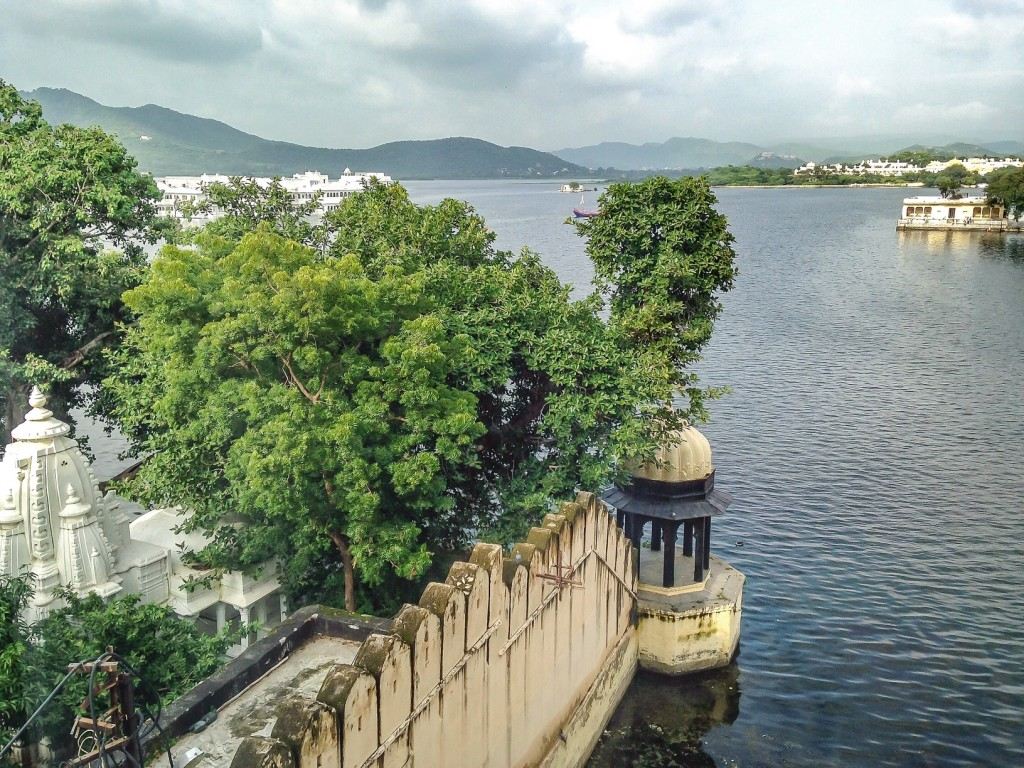 View from hostel bedroom window.