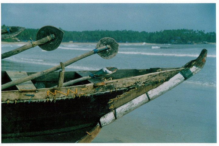 Old fashioned fishing boats