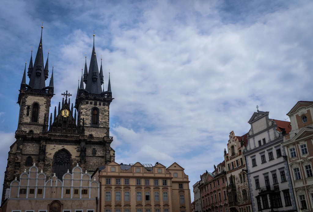 Prague's town square is easily accessible on a Segway