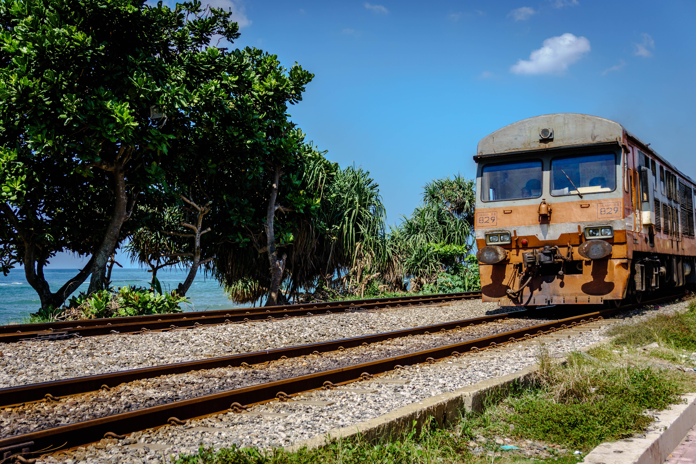 The Coastal Line runs between Colombo Fort and Matara