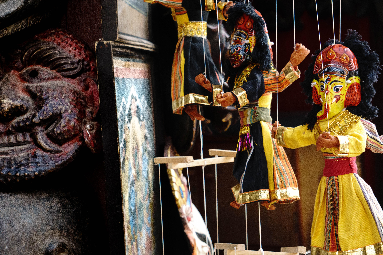 Marionettes, Kathmandu