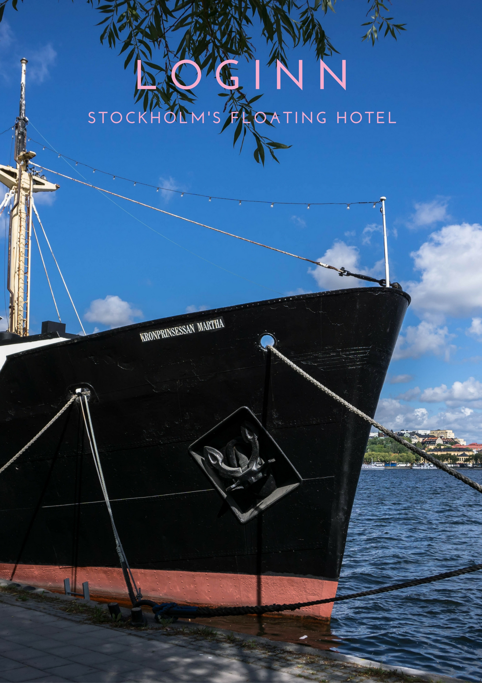 loginn a floating hotel in stockholm runaway brit. Black Bedroom Furniture Sets. Home Design Ideas