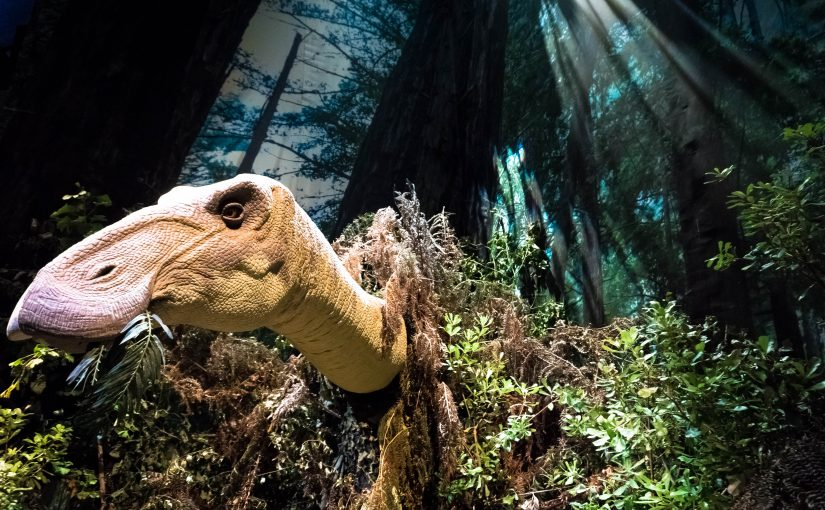 Dinosaurs at Eden