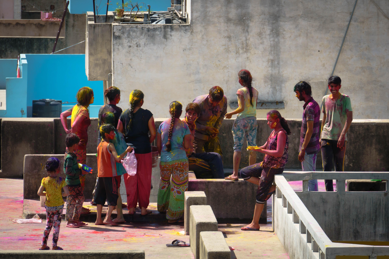 Holi festival, Jaipur