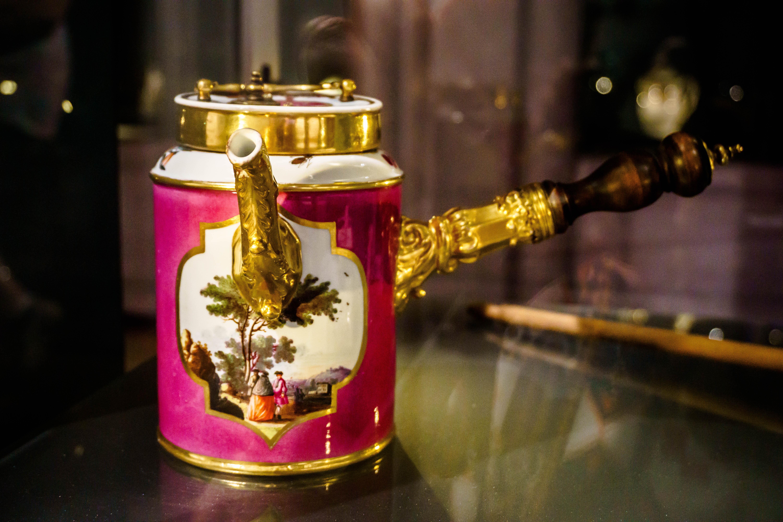 Victorian chocolate pot, Köln Chocolate Museum