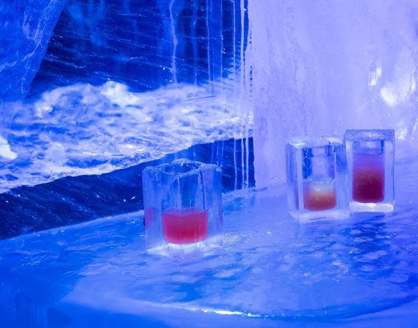 Stockholm ICEBAR: 'The Cold Never Bothered Me Anyway'