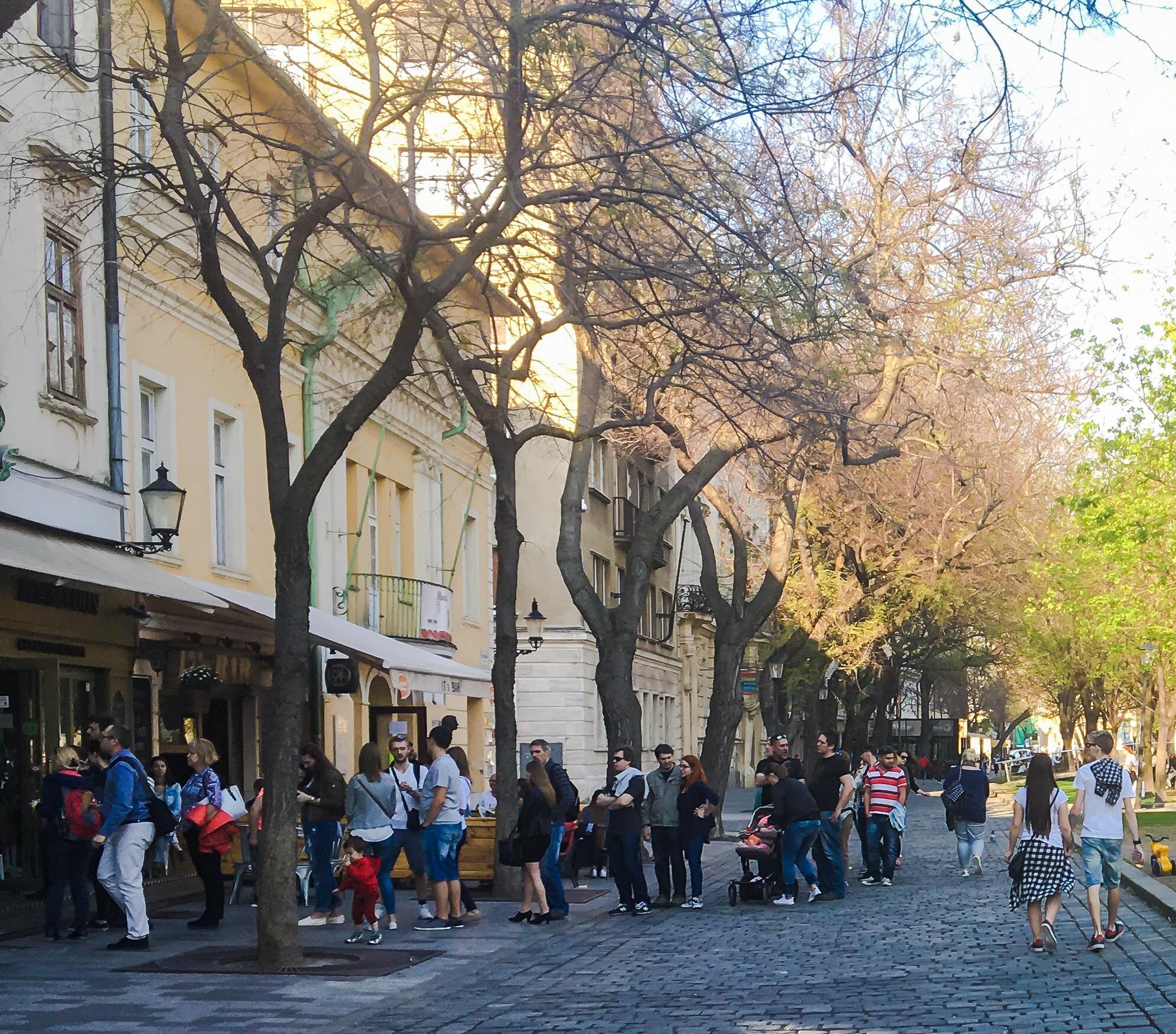 Spring in Bratislava