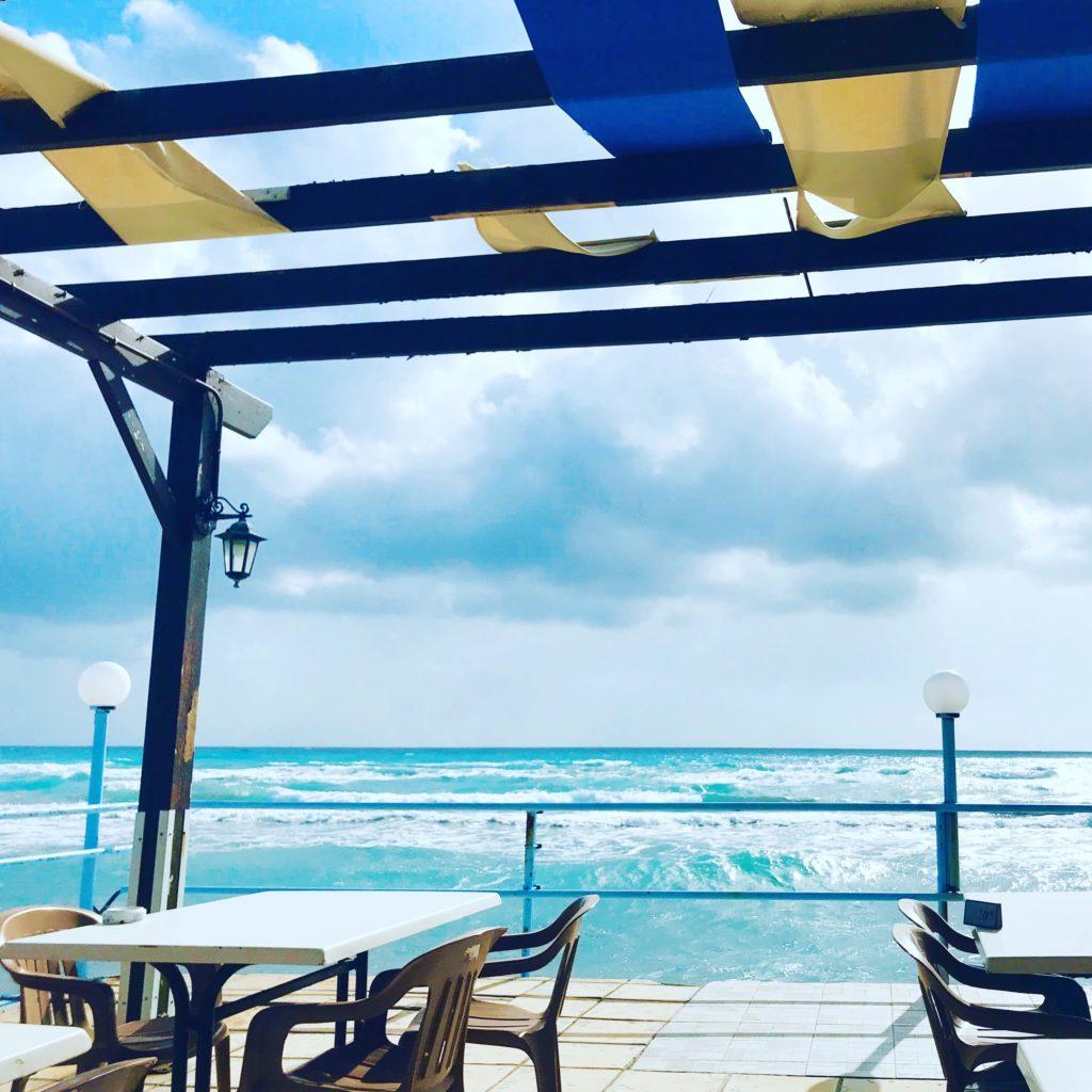 The beautiful Cyprus coast