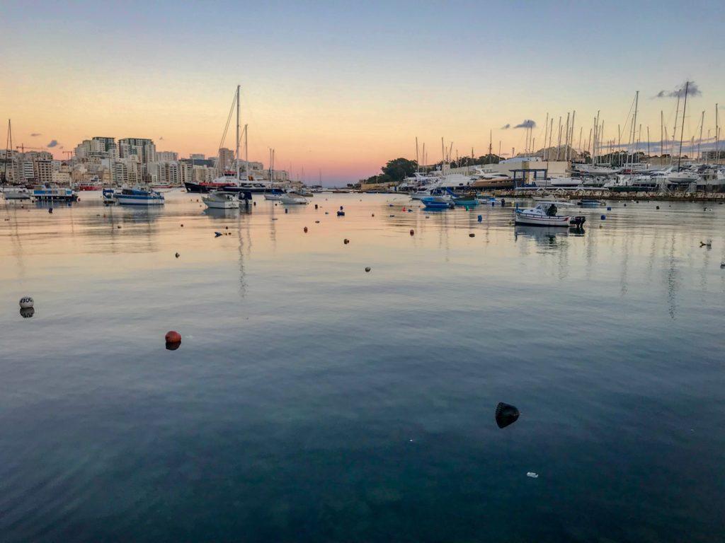 Sliema Harbour in Malta