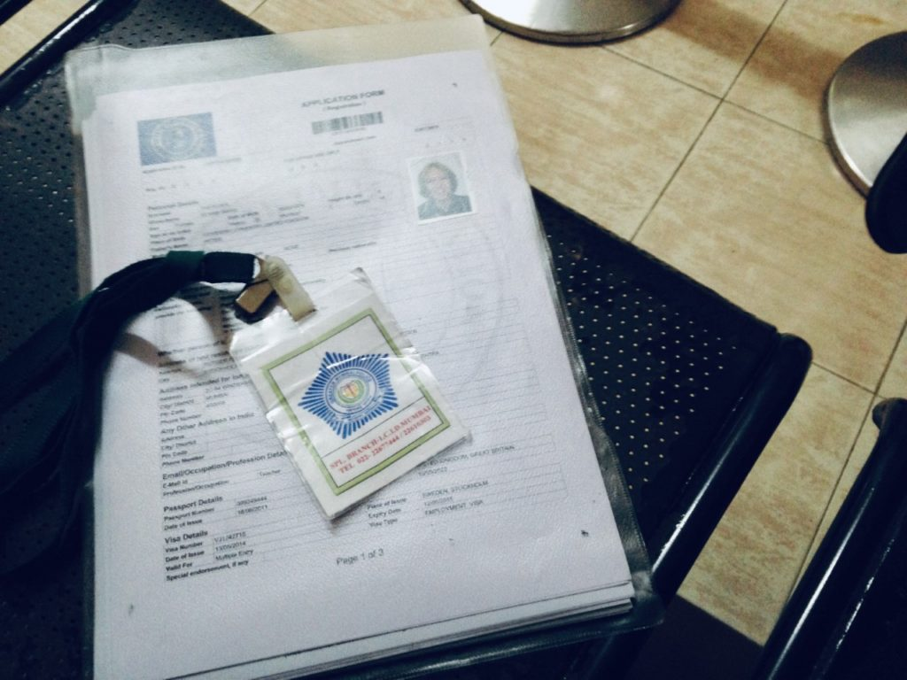 Living in Europe immigration paperwork