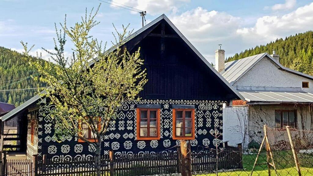 Čičmany house 2